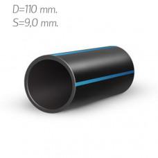 Труба полиэтиленовая 110×9,0 мм